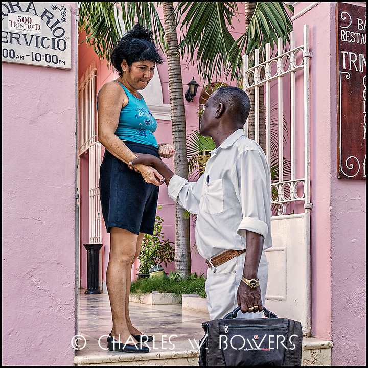 Faces Of Cuba - peace to you too. Friend meet and greet with kindness.<br /> <br /> - Limited edition of 50 prints.