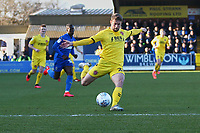 Jack Sowerby of Fleetwood Town during AFC Wimbledon vs Fleetwood Town, Sky Bet EFL League 1 Football at the Cherry Red Records Stadium on 8th February 2020
