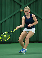 Rotterdam, The Netherlands, March 18, 2016,  TV Victoria, NOJK 14/18 years, Suzan Lamens (NED)<br /> Photo: Tennisimages/Henk Koster