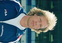 VOETBAL: HEERENVEEN: 1999, Abe Lenstra Stadion, SC Heerenveen Teampresentatie Pers, Gert Jan Verbeek, ©foto Martin de Jong