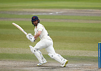 29th May 2021; Emirates Old Trafford, Manchester, Lancashire, England; County Championship Cricket, Lancashire versus Yorkshire, Day 3; Josh Bohannon of Lancashire batting during the morning session on the 3rd day as Lancashire built up a first innings lead of 280 without losing a wicket before the lunch interval