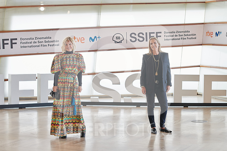 Marta Tous, Eugenia Martinez de Irujo attend the Photocall of 'Oso' during the 68th San Sebastian Donostia International Film Festival - Zinemaldia.September 25,2020.(ALTERPHOTOS/Yurena Paniagua)