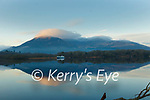 Reflection: Sunrise on a frosty at Lough Leane Killarney on Wednesday morning