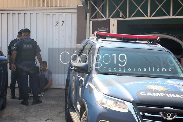 Campinas (SP), 13/08/2021 - CRIME-SP - Homens são presos no DIC IV na tarde desta sexta-feira (13). Eles são suspeitos de participar de roubo de cargas.