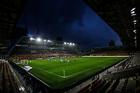 19th December 2020; Brentford Community Stadium, London, England; English Football League Championship Football, Brentford FC versus Reading; General view of inside an empty Brentford Community Stadium during the 2nd half