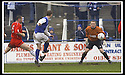 01/03/2003                   Copyright Pic : James Stewart.File Name : stewart-qots v falkirk 11.PETER WEATHERSON SCORES THE WINNER....James Stewart Photo Agency, 19 Carronlea Drive, Falkirk. FK2 8DN      Vat Reg No. 607 6932 25.Office     : +44 (0)1324 570906     .Mobile  : +44 (0)7721 416997.Fax         :  +44 (0)1324 570906.E-mail  :  jim@jspa.co.uk.If you require further information then contact Jim Stewart on any of the numbers above.........