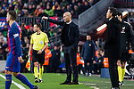 FC Barcelona's coach Luis Enrique Martinez, Real Madrid's coach Zinedine Zidane during spanish La Liga match between Futbol Club Barcelona and Real Madrid  at Camp Nou Stadium in Barcelona , Spain. Decembe r03, 2016. (ALTERPHOTOS/Rodrigo Jimenez)