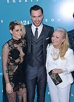 Kristen Stewart + Nicholas Hoult + Jacki Weaver @ the premiere of 'Equals' held @ the Arclight theatre. July 7, 2016