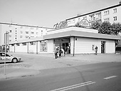 Zamosc 18.10.2019 Poland<br /> During the communist era, a number of large modernist department stores were built - called Społem. Currently, they are losing importance due to many supermarkets but they have become a permanent element of the post-communist landscape of small towns. <br /> Photo: Adam Lach