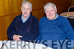 PB Mc Elligott and Micheal Harty attending the Causeway Active Retirement Christmas Party in the Ballyroe Heights Hotel on Sunday