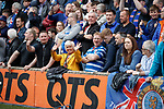 19.05.2019 Kilmarnock v Rangers: Rangers fans