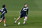 Madrid (02/03/10).-Entrenamiento del Real Madrid..Cristoph Metzelder...© Alex Cid-Fuentes/ ALFAQUI..Madrid (02/03/10).-Training session of Real Madrid c.f..Cristoph Metzelder...© Alex Cid-Fuentes/ ALFAQUI.