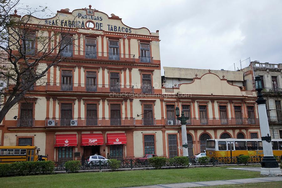 Cuba, Havana.  Partagas Cigar Factory.