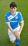 St Johnstone Academy Under 17's…2016-17<br />Oliver Hamilton<br />Picture by Graeme Hart.<br />Copyright Perthshire Picture Agency<br />Tel: 01738 623350  Mobile: 07990 594431