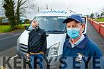 Christy Halpin and Pat O'Sullivan, Fitzpatrick's of Listowel atTarbert at Tarbert Comprehensive school on Wednesday.
