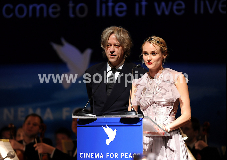 **ALL ROUND PICTURES FROM SOLARPIX.COM**.**SYNDICATION RIGHTS FOR UK AND SPAIN ONLY**.Cinema for Peace Gala 2009 at the Benefit Gala in Berlin...This pic:Diane Kruger..JOB REF: 8438        CPR/Gottshal        DATE:09.02.09.**MUST CREDIT SOLARPIX.COM OR DOUBLE FEE WILL BE CHARGED**.**ONLINE USAGE FEE  GBP 50.00 PER PICTURE - NOTIFICATION OF USAGE TO PHOTO @ SOLARPIX.COM**