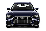 Car photography straight front view of a 2020 Audi A6 allroad quattro Base 5 Door Wagon
