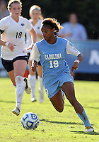 SAN DIEGO, CA - DECEMBER 02, 2012:  Crystal Dunn (19) of the University of North Carolina during the NCAA 2012 women's college championship match, at Torero Stadium, in San Diego, CA, on Sunday, December 02 2012. Carolina won 4-1.