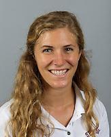 Victoria Kennedy member of Stanford women's water polo team. Photo taken Tuesday, September 25, 2012. ( Norbert von der Groeben )
