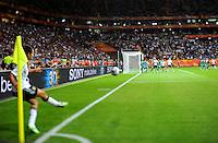 Corner of Celia Okoyino da Mbabi of team Germany during the FIFA Women's World Cup at the FIFA Stadium in Frankfurt, Germany on June 30th, 2011.