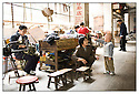 Chine<br /> Marché de long Pi, famille Chinoise