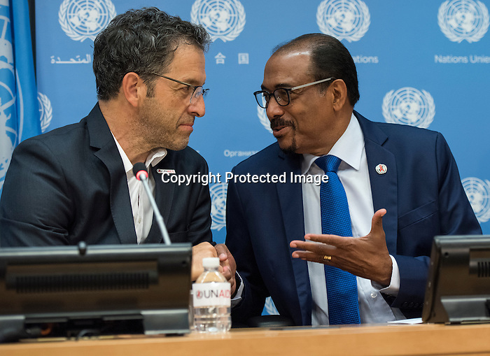 Press briefing to announce the appointment of a new UNAIDS International Goodwill Ambassador, Kenneth Cole,  United Nations New York