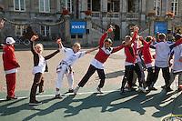 17-9-09, Netherlands,  Maastricht, Tennis, Daviscup Netherlands-France,  Straattennis