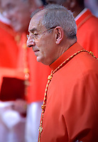 Cardinal Angelo De Donatis.Pope Francis leads a consistory for the creation of five new cardinals  at St Peter's basilica in Vatican on  June 28, 2018