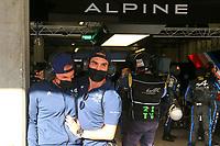#36 ALPINE ELF MATMUT (FRA) ALPINE A480 – GIBSON HYPERCAR - ANDRE NEGRAO (BRA) / NICOLAS LAPIERRE (FRA)