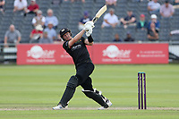 George Scott hits 6 runs for Gloucestershire during Gloucestershire vs Essex Eagles, Royal London One-Day Cup Cricket at the Bristol County Ground on 3rd August 2021