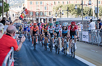 grupetto in the streets of Nice<br /> <br /> Stage 2 from Nice to Nice (186km)<br /> <br /> 107th Tour de France 2020 (2.UWT)<br /> (the 'postponed edition' held in september)<br /> <br /> ©kramon