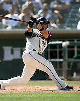 Bubba Bell / Lancaster JetHawks..Photo by:  Bill Mitchell/Four Seam Images