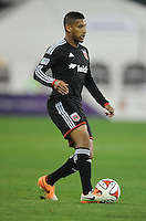 Washington D.C. - March 8, 2014: Sean Franklin (5) of D.C. United. The Columbus Crew defeated D.C. United 3-0 during the opening game of the 2014 season at RFK Stadium.