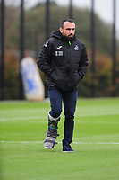Leon Britton Sporting Director of Swansea City during the Swansea City Training at The Fairwood Training Ground in Swansea, Wales, UK. Wednesday 30 October  2019