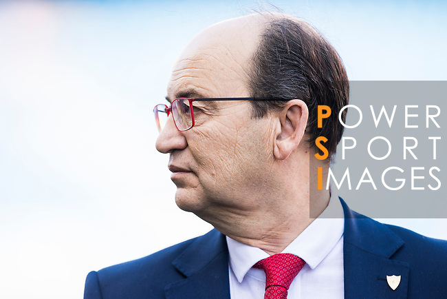 President of Sevilla FC Jose Castro Carmona prior to the La Liga match between Atletico de Madrid and Sevilla FC at the Estadio Vicente Calderon on 19 March 2017 in Madrid, Spain. Photo by Diego Gonzalez Souto / Power Sport Images