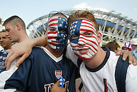 USA fans at the FIFA World Cup 2002.