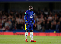 22nd September 2021; Stamford Bridge, Chelsea, London, England; EFL Cup football, Chelsea versus Aston Villa; Ngolo Kante of Chelsea