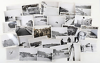 BNPS.co.uk (01202 558833)<br /> Pic: C&TAuctions/BNPS<br /> <br /> Pictured: His photo collection charting his war including the tank trials.<br /> <br /> The medals and personal effects of an unsung hero of D-Day have emerged for sale for £6,000.<br /> <br /> Lieutenant Colonel Douglas Bain trialled the amphibious Duplex Drive tanks ahead of the Normandy landings in June 1944.<br /> <br /> He commanded three DD training schools preparing tanks for sea and river assaults, reporting personally to Field Marshal Bernard Montgomery.<br /> <br /> The dangerous trials, which tested the 'waterproofing' of the amphibious armoured vehicles, were carried out off the south coast of England.