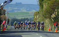 Under-19 Women's road race, Carterton-Martinborough-Gladstone circuit, on day two of the 2018 NZ Age Group Road Cycling Championships in Carterton, New Zealand on Sunday, 22 April 2018. Photo: Dave Lintott / lintottphoto.co.nz