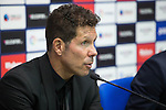 Atletico de Madrid's coach Diego Pablo Cholo Simeone during the match of La Liga between Club Deportivo Leganes and Atletico de Madrid at Butarque Estadium in Leganes. August 27, 2016. (ALTERPHOTOS/Rodrigo Jimenez)