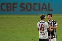 RIO DE JANEIRO (RJ), 09/09/2020 - FLUMINENSE - FLAMENGO - Fred. Partida entre Fluminense e Flamengo, válida pela 9ª rodada do Campeonato Brasileiro 2020, realizada no Estádio do Maracanã, nesta quarta-feira (09).