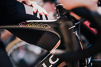 Chris Froome (GBR/SKY), winner of 6 grand tours, at the race start in Luchon<br /> <br /> Stage 17: Bagnères-de-Luchon > Saint-Lary-Soulan (65km)<br /> <br /> 105th Tour de France 2018<br /> ©kramon