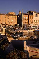 Europe/France/Provence-Alpes-Côte d'Azur/83/Var/Saint-Tropez: Le  port et ses yachts