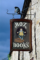 Großbritannien, Wales, Hay on Wye, Second hand Buchladen.bookshop