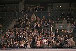 Twickenham rugby streaker. Crowd of spectators and streaker, woman taken her clothes off.