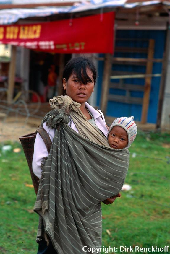 Lat-Minderheit bei Dalat, Vietnam