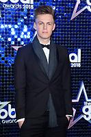 Casper Lee<br /> arriving for the Global Awards 2018 at the Apollo Hammersmith, London<br /> <br /> ©Ash Knotek  D3384  01/03/2018