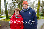 Enjoying a stroll in Killarney National park on Sunday, l to r: Kathleen and Der Brosnan