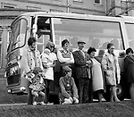 The Beatles 1967 Spencer Davis andPaul McCartney filming Magical Mystery Tour at Atlantic Hotel in  Newquay, Cornwall ..© Chris Walter..
