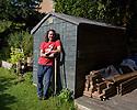 Edinburgh, UK. 02.08.2020. Head Gardener, Alan Mitchell, at the Salisbury Centre, Edinburgh. Photograph © Jane Hobson.
